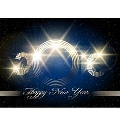 Happy New Year Festive Design vector image
