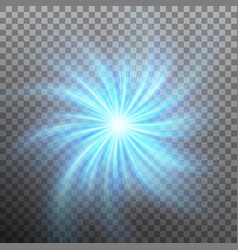 lightning vortex effect with transparency eps 10 vector image