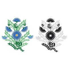 ornament floral multi vector image