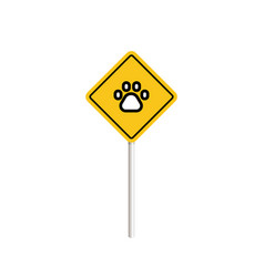 Pets signs set please clean up after your pet vector