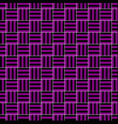 simple seamless square pattern design background vector image