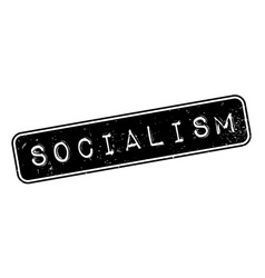 Socialism rubber stamp vector