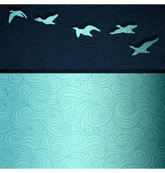 Flying Geese vector image