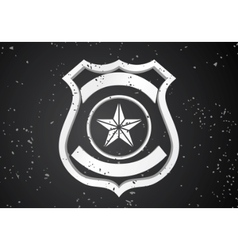 Security badge vector