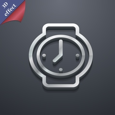 watches icon symbol 3D style Trendy modern design vector image