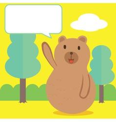 Bear talk vector