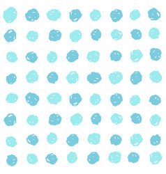 Blue paint dots background vector