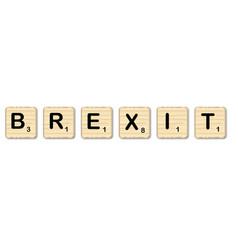 Brexit scrabble word vector