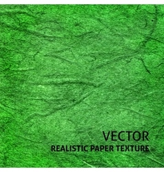 Green paper texture background vector