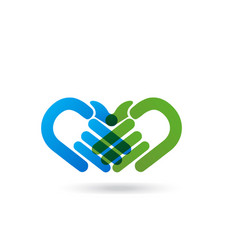 handshake agreement hands icon vector image