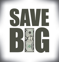 Save Big Five vector