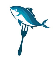 seafood symbol vector image
