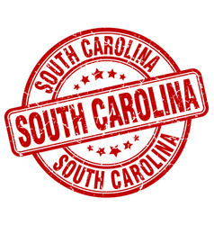 South carolina stamp vector