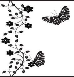 Vintage butterflies 5 vector