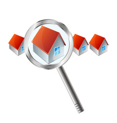 search real estate vector image