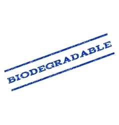 Biodegradable Watermark Stamp vector