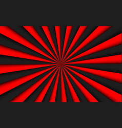 black and red abstract background vector image