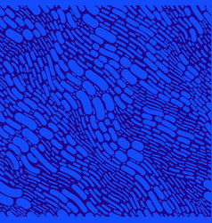 blue abstract shaps seamless texture isolated vector image