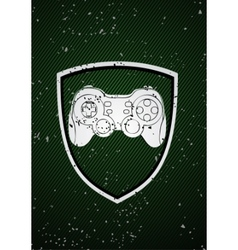 game badge vector image