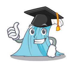 Graduation waves of water graphic character vector