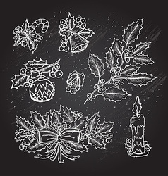 Hand drawn decorations vector