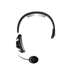 Headset headphones icon image vector