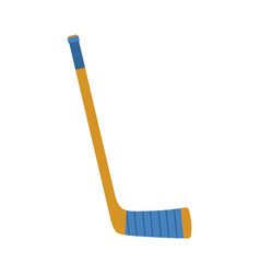 Hockey stick isolated accessory ice hockey on vector