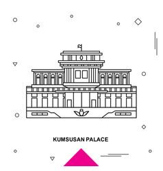 Kumsusan palace vector