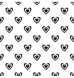 Masculine heart pattern seamless vector