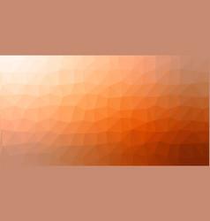orange gradient low poly triangular geometric vector image