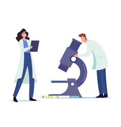 Urine test examination for disease check up vector