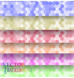 seamless texture hex grid vector image