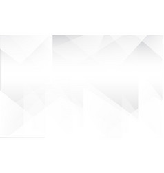 triangle white vector image vector image