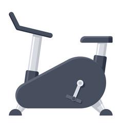 exercise bike icon vector image
