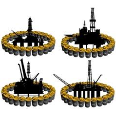 Petroleum business-2 vector image vector image