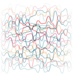 abstract background from colored waves lines vector image
