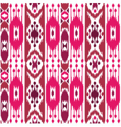 Boho pink seamless pattern vector