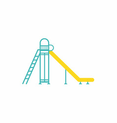 Childrens slide vector