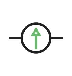 Galvanometer vector image