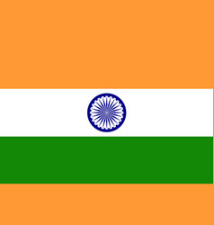 Image of india flag vector