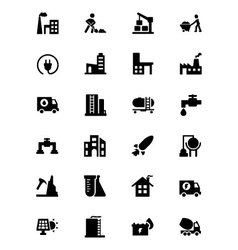 Industrial Icons 4 vector image