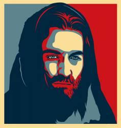 jesus illustration vector image