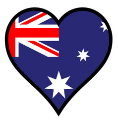 Love australia vector