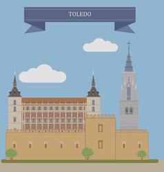 Toledo vector image