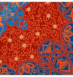 floral arabesque background vector image