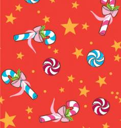 candy cains vector image