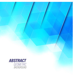 Abstract hexagon background technology geometric vector