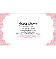 Business woman card vector