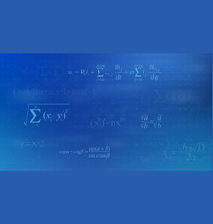 creative of math equation vector image