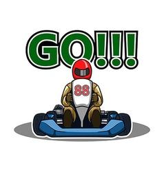Go Gokart Race vector